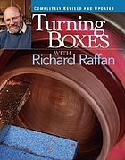 Turning boxes with Richard Raffan.