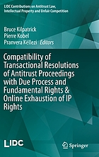 Compatibility of transactional resolutions of antitrust proceedings with due process and fundamental rights & online exhaustion of IP rights