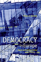 Democracy in Europe : the EU and national polities