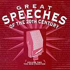 Great speeches of the 20th century. Volume two, The new frontier