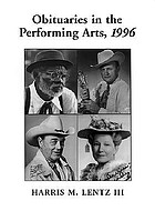 Obituaries in the performing arts, 1996 : film, television, radio, theatre, dance, music, cartoons and pop culture