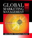 Global marketing management : a casebook.