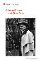 Collected essays and other prose
