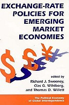 Exchange-rate policies for emerging market economies