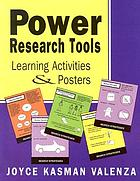 Power research tools : learning activities & posters