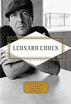 Leonard Cohen : poems and songs