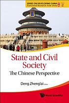 State and civil society : the Chinese perspective