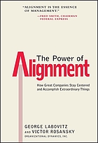 The power of alignment : how great companies stay centered and accomplish extraordinary things