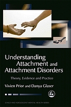 Understanding attachment and attachment disorders : theory, evidence and practice