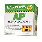Barron's Ap Human Geography Flash Cards.