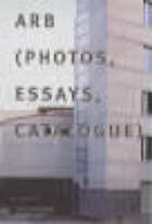 Arb : photos, essays, catalog