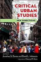 Critical urban studies : new directions