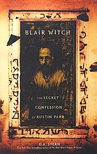 Blair Witch : the secret confession of Rustin Parr