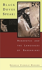 Black doves speak : Herodotus and the languages of Barbarians