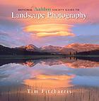 National Aubodon Society guide to landscape photography