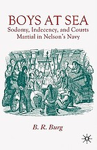 Boys at sea : sodomy, indecency, and courts martial in Nelson's navy