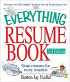The everything resume book : great resumes for every situation