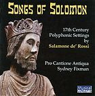 Songs of Solomon : 17th century Polyphonic settings
