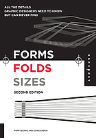 Forms, folds, sizes : all the details graphic designers need to know but can never find