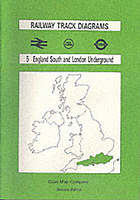 Railway track diagrams. 5, England South and London Underground.