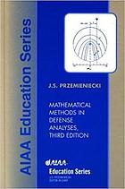 Mathematical methods in defense analyses