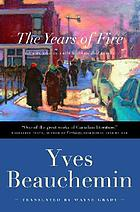 The years of fire : a novel