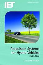 Propulsion systems for hybrid vehicles