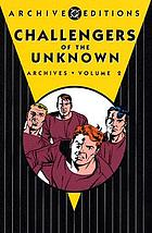 Challengers of the Unknown archives. Volume 2