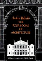 The four books of architecture.