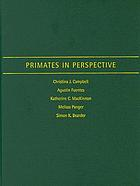 Primates in Perspective cover image
