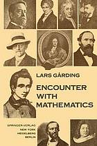 Encounter with mathematics