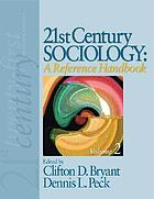 21st century sociology : a reference handbook