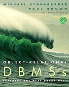 Object-relational DBMSs : tracking the next great wave