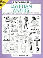 Ready-to-use Egyptian motifs : 370 different copyright-free designs printed one side