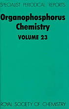 Organophosphorus chemistry. Volume 23 : a review of the recent literature published between July 1990 and June 1910