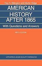 American history after 1865