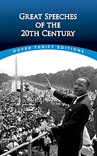 Great speeches of the twentieth century