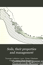 Soils, their properties and management,