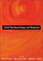 Adult psychopathology and diagnosis