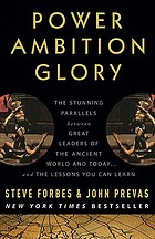 Power, ambition, glory : the stunning parallels between great leaders of the ancient world and today ... and the lessons you can learn