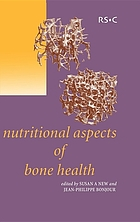 Nutritional aspects of bone health