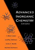 Advanced inorganic chemistry.