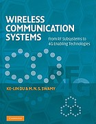 Wireless communication systems : from RF subsystems to 4G enabling technologies