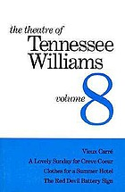 The theater of Tennessee Williams. 8.