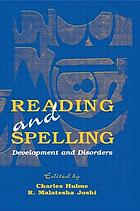 Reading and spelling : development and disorders