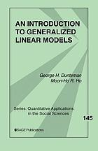 Introduction to Generalized Linear Models cover image