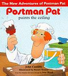 Postman Pat paints the ceiling