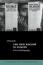The new racism in Europe : a Sicilian ethnography