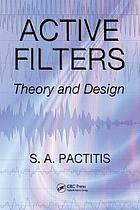 Active filters : theory and design