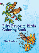 Fifty favorite birds coloring books